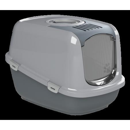 Katzentoilette EcoDome mit Haube, Siebeinsatz und Aktivkohlefilter