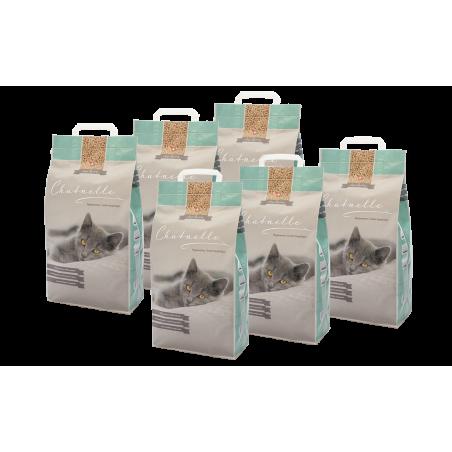 Abbonamento mensile pacco da 6 lettiere igieniche Chatnelle